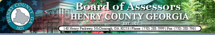 Henry County - GA - Tax