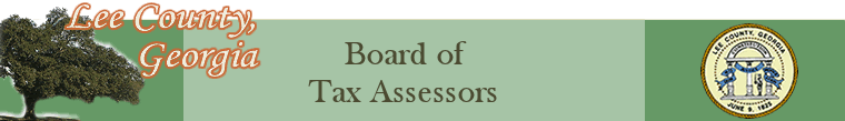Lee County Ga Tax Assessor Property Search